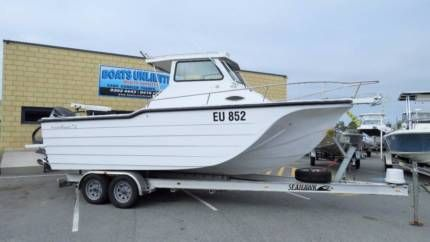 Ocean Master 720 TRIMARAN BIG VOLUME STABLE FISHING MACHINE   Motorboats & Powerboats   Gumtree Australia Wanneroo Area - Wangara   1154194793