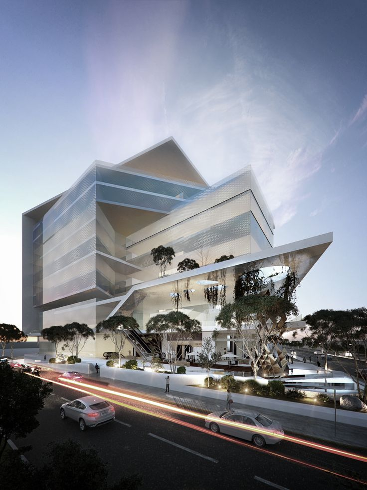 Centro Comercial - Plaza Comercial - Commercial Center - Mall - Conceptual - EVA3D