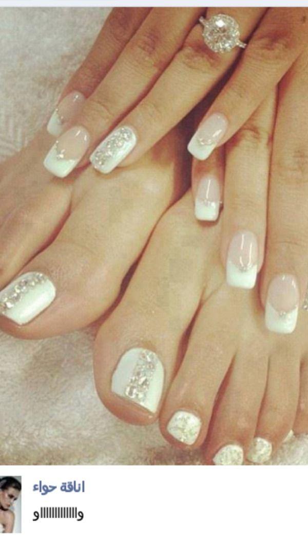 Bridal nails :)