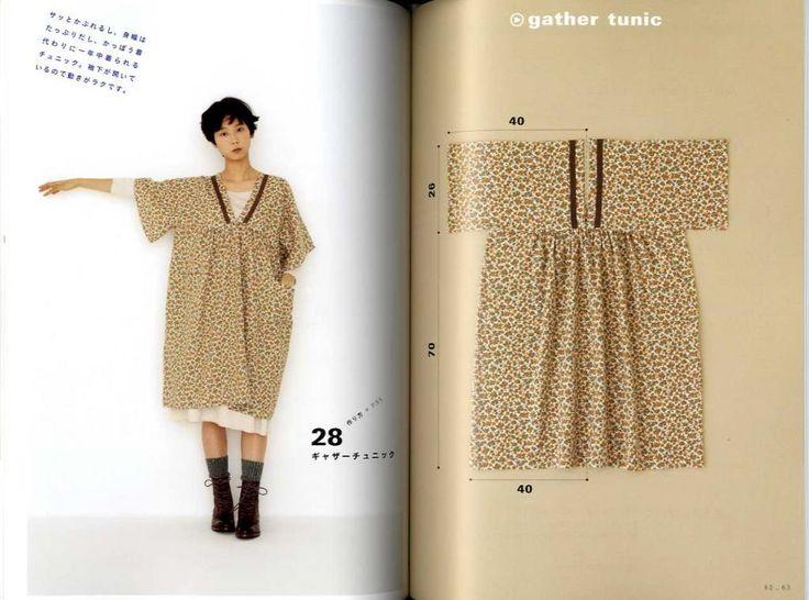 Apron & dress Yoshiko Tsukiori cute sewing straight