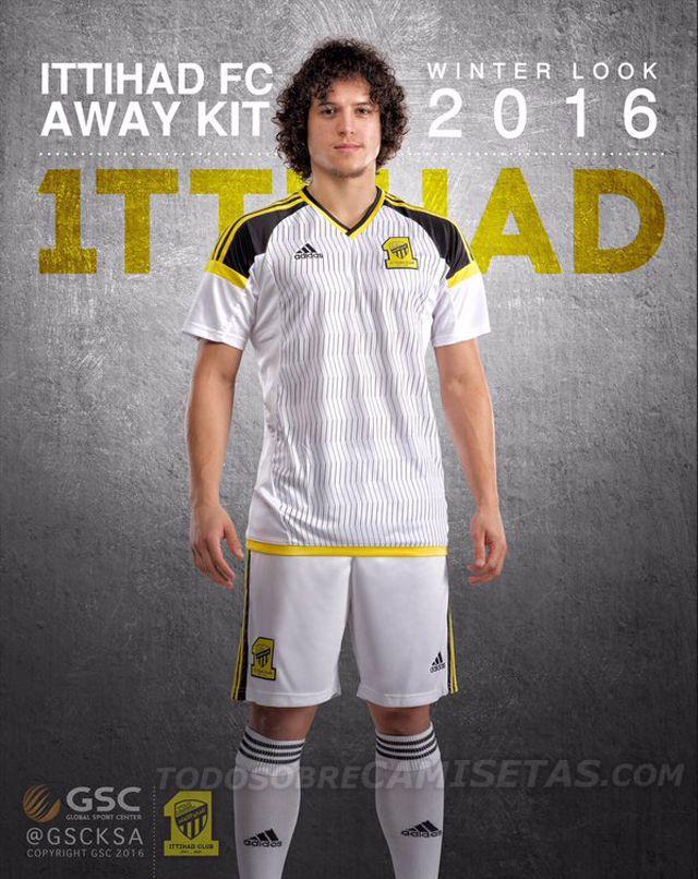 Al Ittihad FC | away jersey | winter 2016