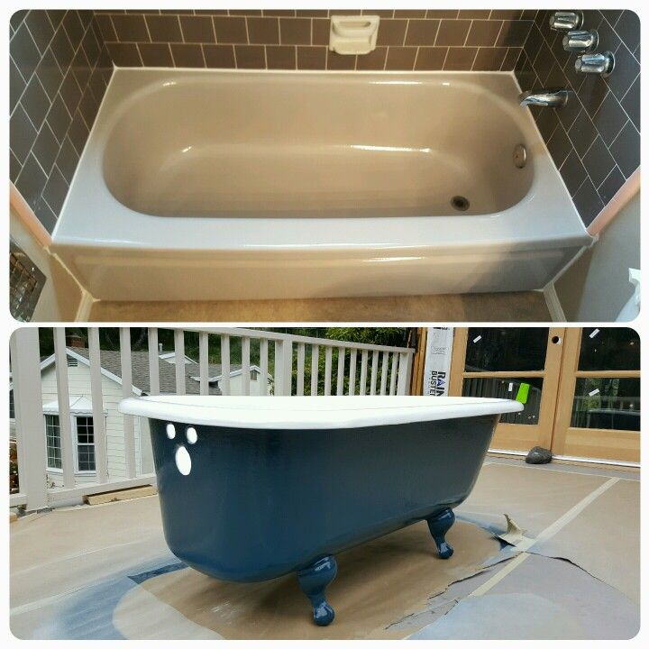 Bathtub Reglazing Can Be Done In Any Color You Want!