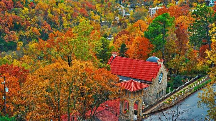 Eureka Springs, Arkansas - not been there yet, but need to go!!!