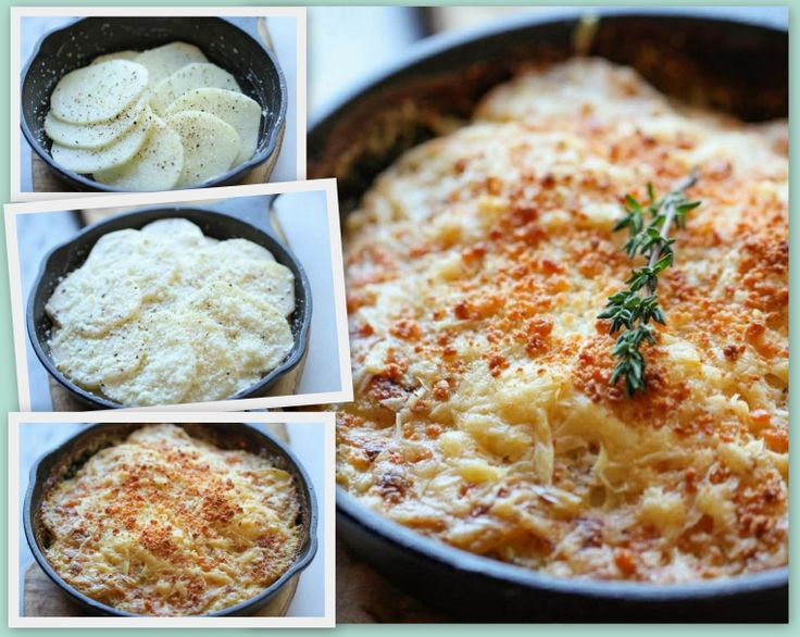 Parmeson Scalloped Potatoes! - One of the best variations on Scalloped Potatoes I've ever tasted :)