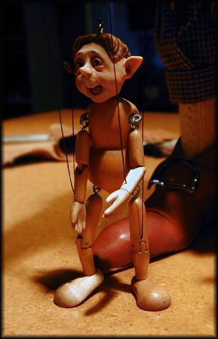 Bill Nelson's Marionettes  - Nelson Studios.