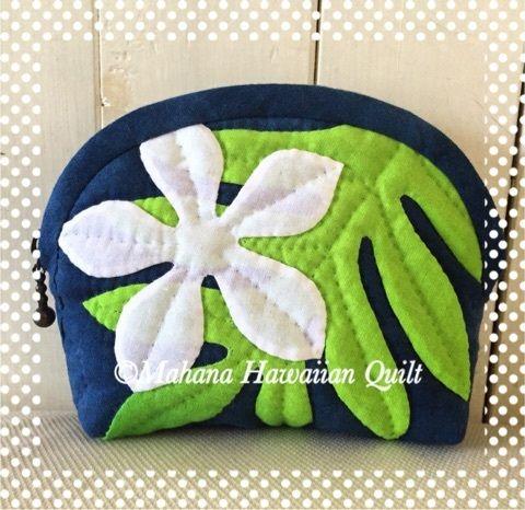 ポーチ♪ の画像 Mahana Hawaiian Quilt