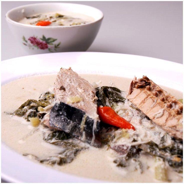 Cakalang santan (fish)