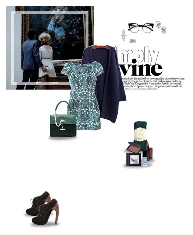 """""""1572. I love you as certain dark things are to be loved,  in secret, between the shadow and the soul."""" by tripmywire ❤ liked on Polyvore featuring WithChic, Iris van Herpen, Luana, Burt's Bees, NARS Cosmetics, JINsoon, Jose & Maria Barrera, Henri Bendel and David Yurman"""