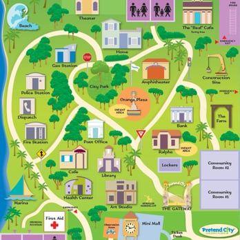 Pretend City Children's Museum map - Yelp