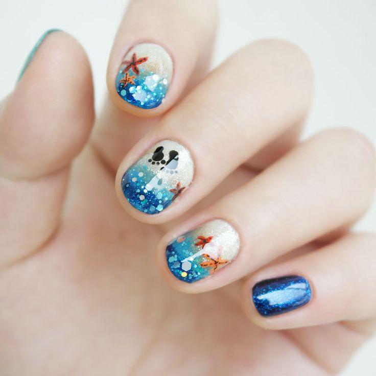 [공유] <이니스프리>떠나요♪둘이서♬♪ 제주도 푸른바다를 담은 네일아트♡ : 네이버 블로그