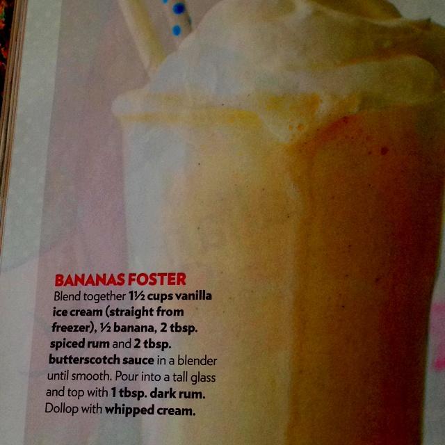 Bananas foster milkshake | Recipes | Pinterest | Banana Foster ...