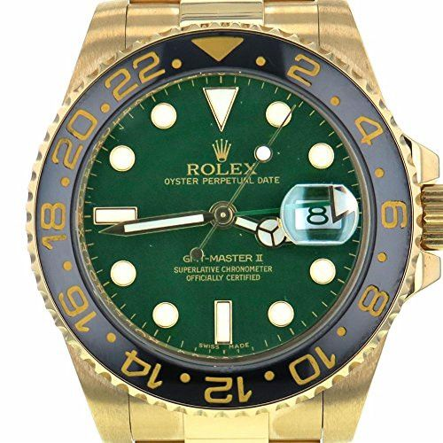 rolex gmtmaster ii mens watch certified preowned