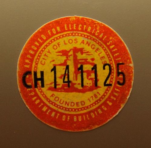 Certification Label by wblo, via Flickr