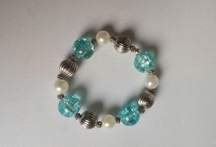 bracciale pietre azzurre di Anaherabijoux su Etsy