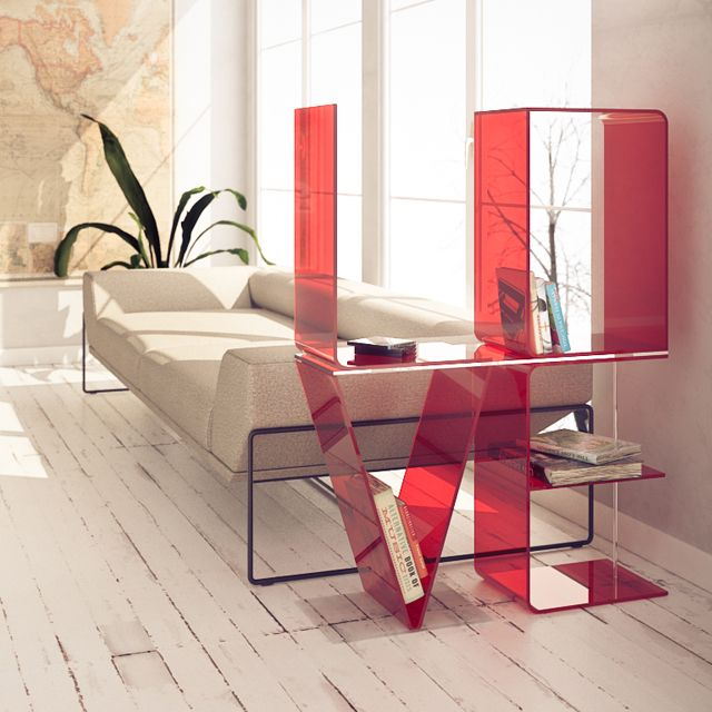 Love Shelf by Ricard Mollon - $560  Wow expensive but so unusual.