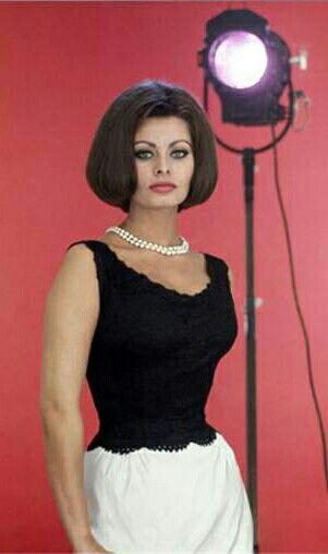 Sophia Loren!