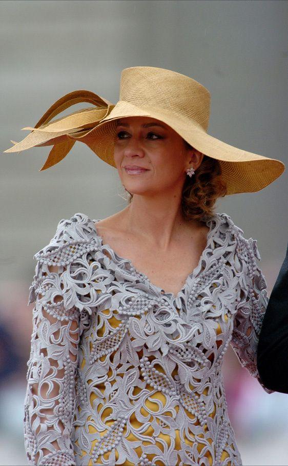 Infanta Cristina, May 22, 2004 in Mabel Sanz| The Royal Hats Blog