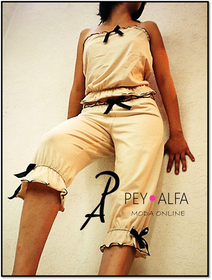 """Lindas pijamas en la nueva Colección """"DOUCE"""" sólo en Pey Alfa, donde la moda y vanguardia son nuestra especialidad."""