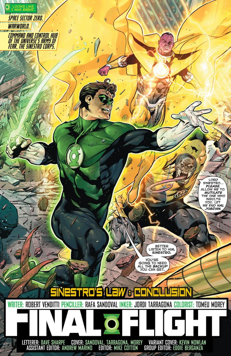 hal jordan and the green lantern corps 32 nz