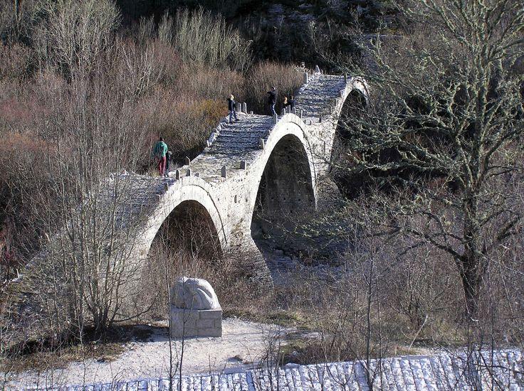 Κήποι_Τρίτοξο γεφύρι του Πλάκιδα ή Καλογερικό, 1814