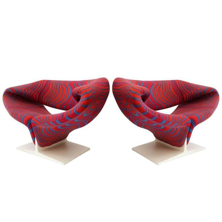 Pierre Paulin Ribbon Chairs In Missoni Fabric At 1stdibs: 227 Best Seating Images On Pinterest