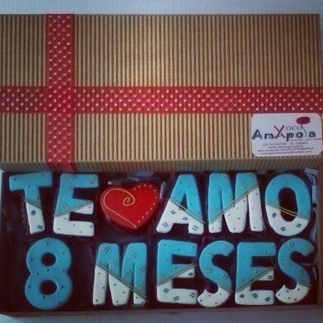 Mensajes en brownie para amor y amistad!!!!!!