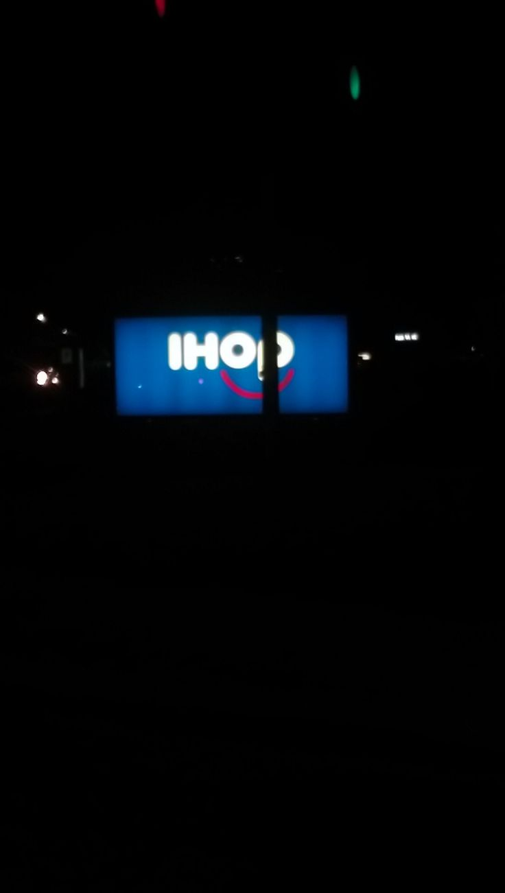 I just now noticed that IHOP's logo has a smiley face! :-)