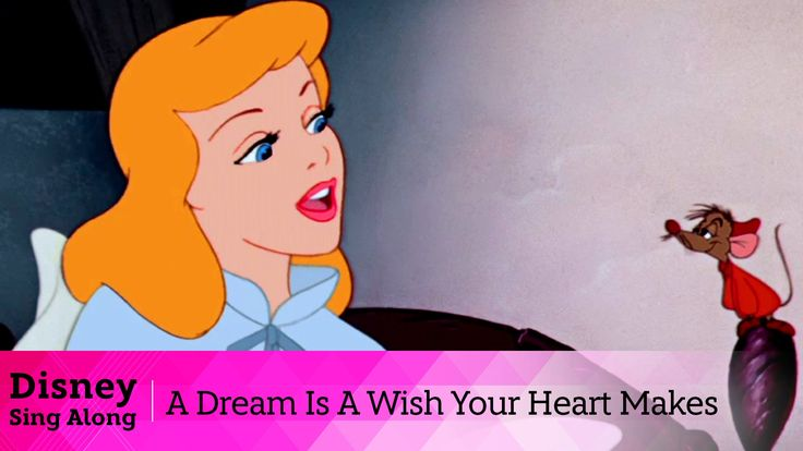 Cinderella Lyric Video   A Dream Is A Wish Your Heart Makes   Sing Along