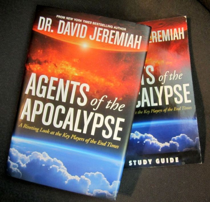 David Jeremiah Agents Of the Apocalypse Book + Study Guide End Times Prophecy