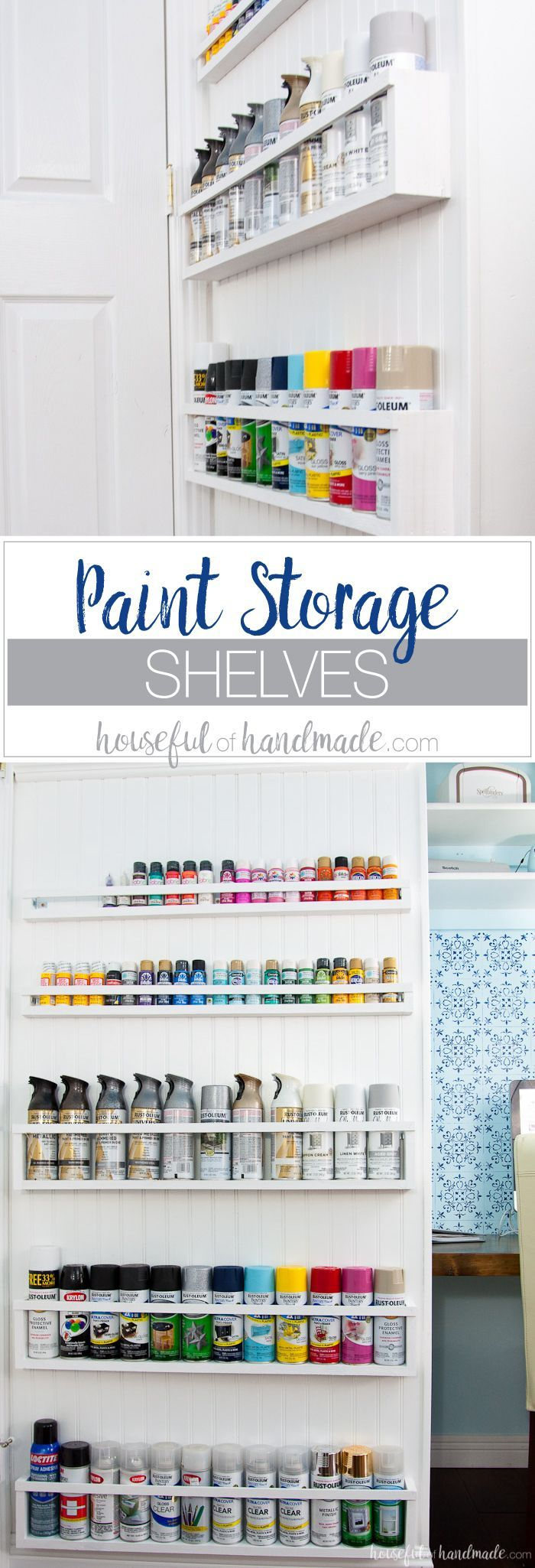 Best 25 craft paint storage ideas on pinterest acrylic for Cheap craft room storage ideas