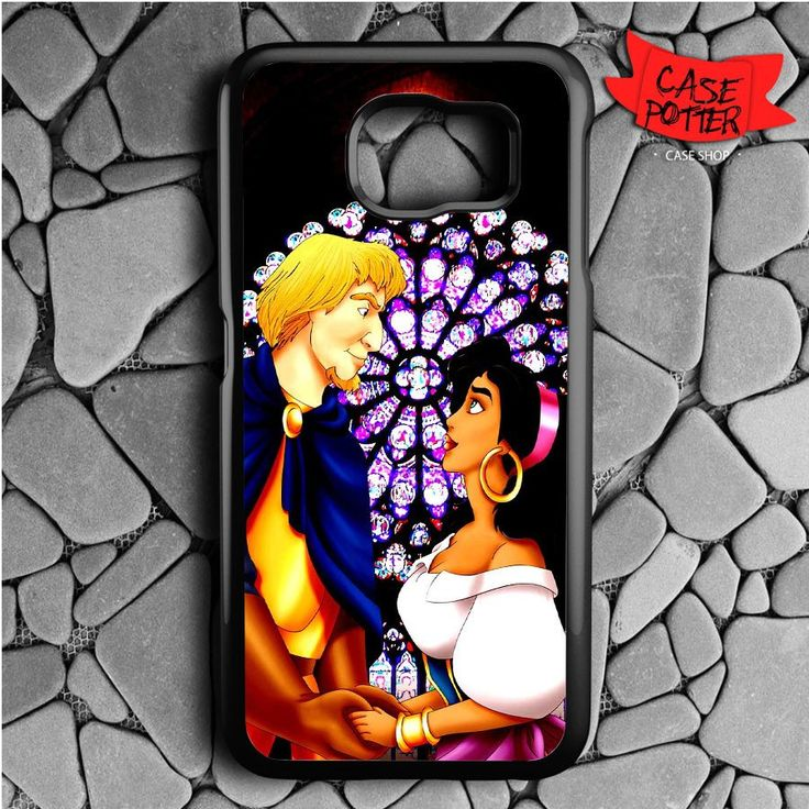 Beauty And The Beast Samsung Galaxy S7 Black Case