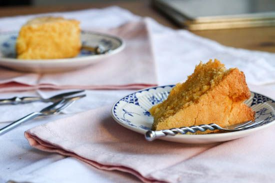 Lemon Polenta Cake River Cafe