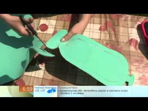 Как сделать домашнюю обувь (How to make homemade shoes)