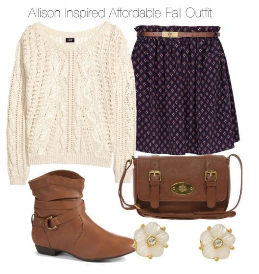 Allison Argent inspired - Just need a cream jumper like one my nanna gave me years ago.