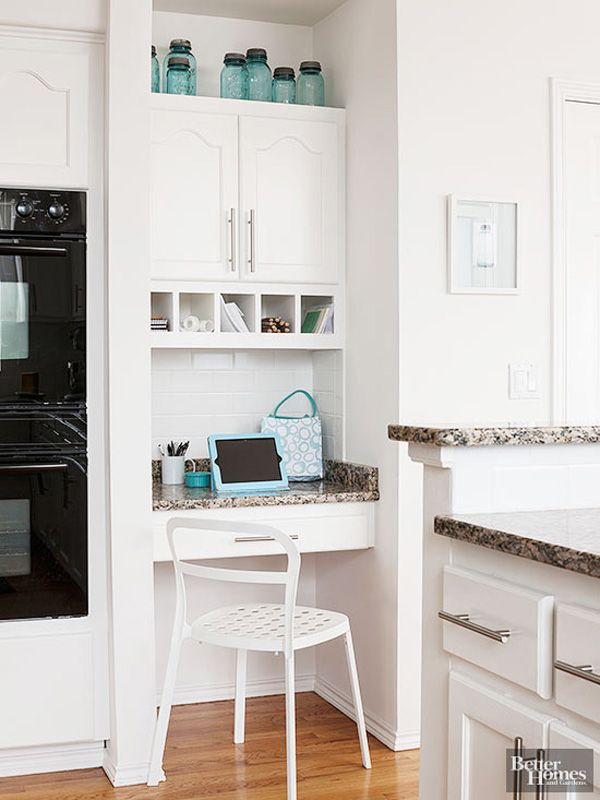 10 ideas for decorating above kitchen cabinets not sure - What to do with the space above kitchen cabinets ...