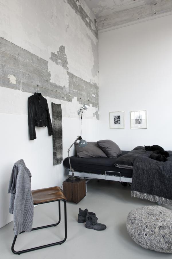 #Loft industrial con un pasado todavía patente en las paredes