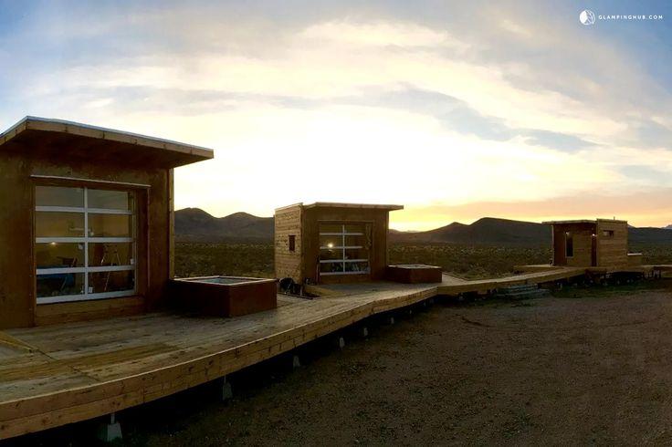 Pod Rental in the Mojave Desert, California