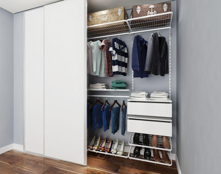Armario Pequeno Quarto ~ 25+ melhores ideias sobre Closet Aramado no Pinterest Aramados para closet, Arara roupas e