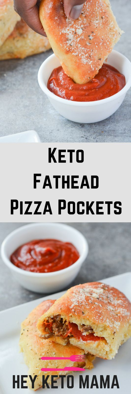 These Keto Fathead Pizza Pockets are delicious proof that going low carb does no...
