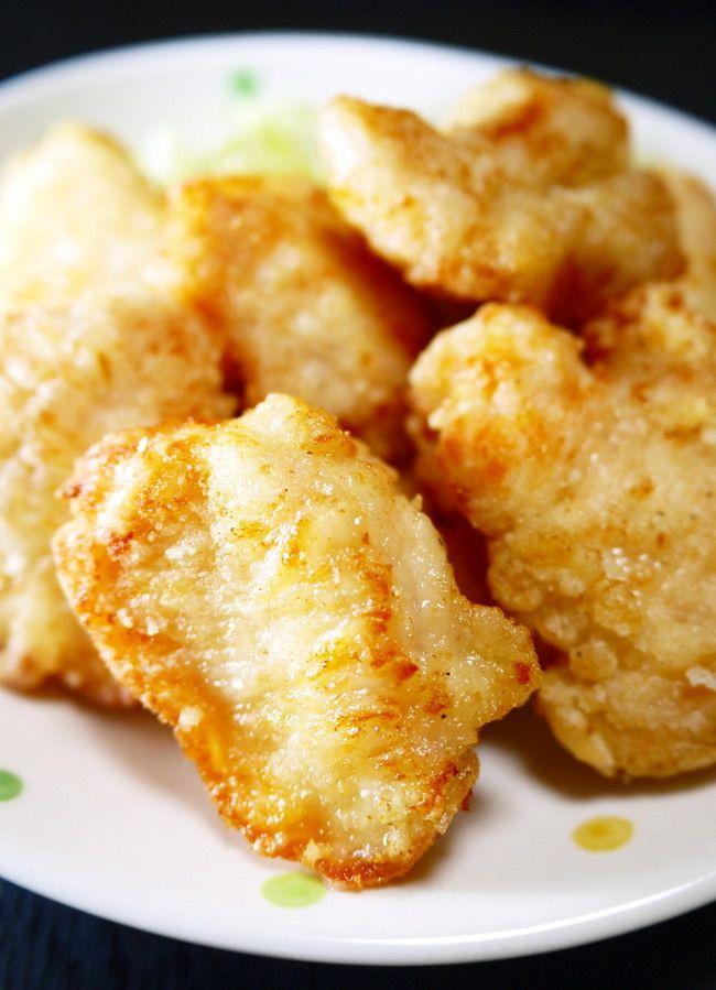 鶏むね肉の唐揚げ  人気レシピ | ほっこり~の