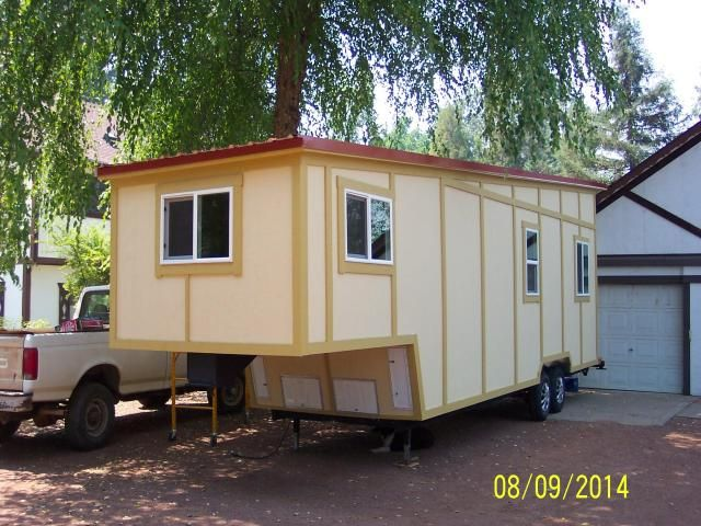 U201cNot So Tinyu201d Tiny House   Built On A 5th Wheel Trailer 36u0027