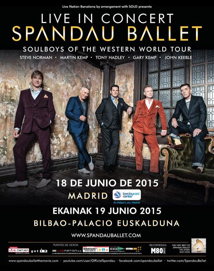 Spandau Ballet Madrid, Bilbao