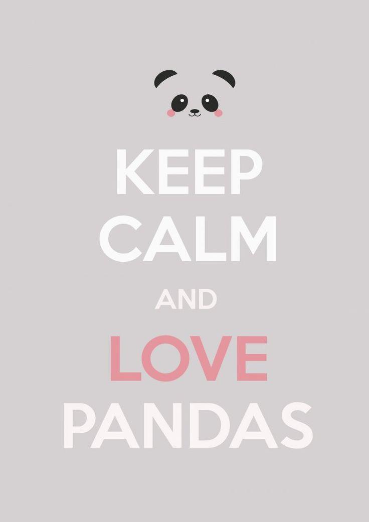 mommo design: PANDA LOVE - free printable