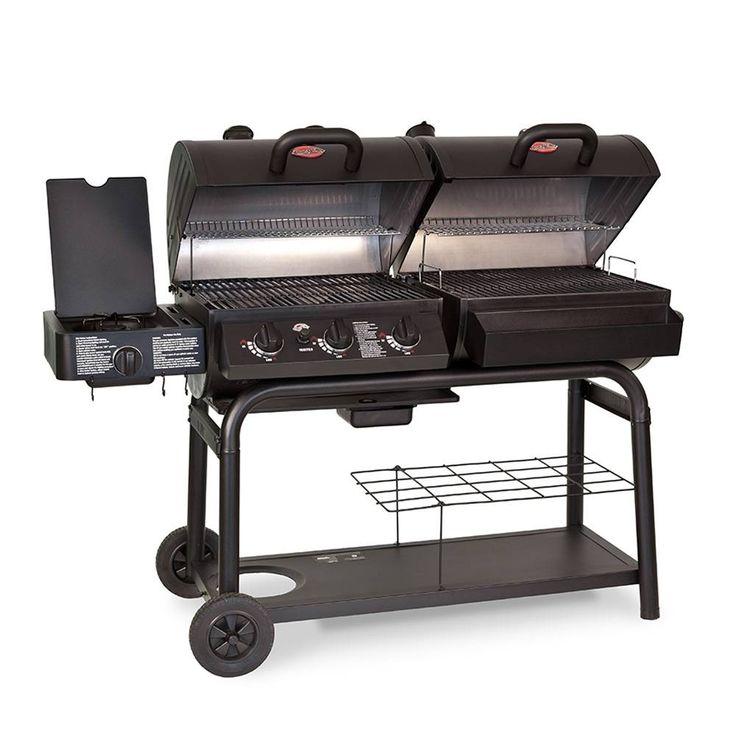 COMPRA de Asador a Gas y Carbón Char-Griller Duo 5050 al mejor precio | Walmart Tienda en Línea