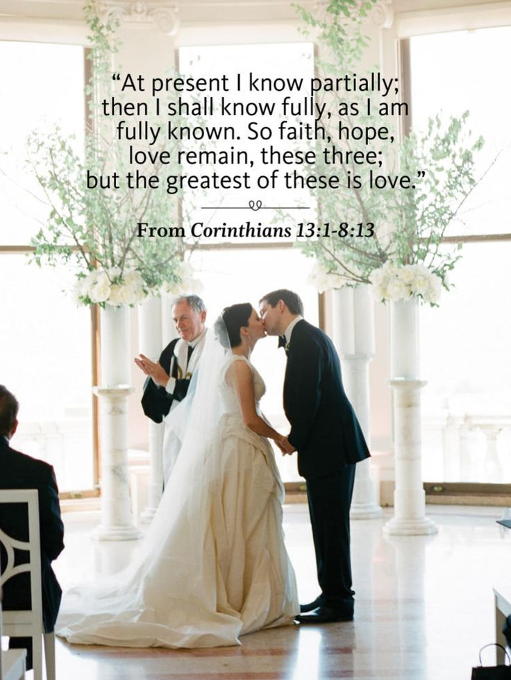 Bible verse 44 Ceremony Readings You'll Love | TheKnot.com
