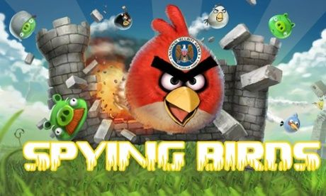 Defaced Angry Birds site