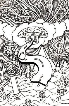 trippy coloring pages trippy mushroom coloring pages trippy mushroom coloring pages pic