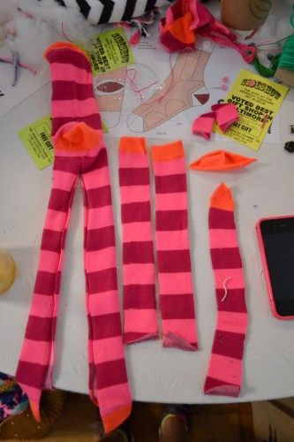 #DIY Sock Monkey project for homemade holiday gift!