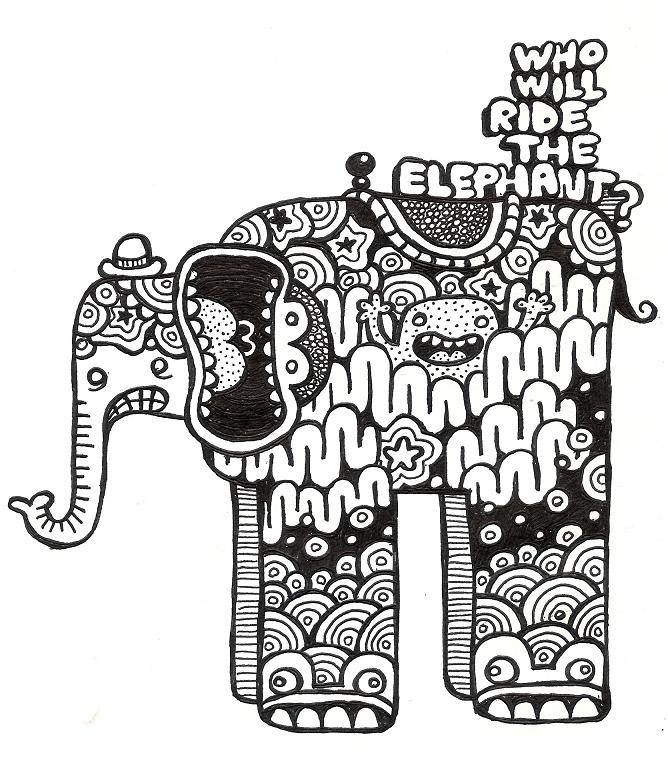 how to make elephant noise