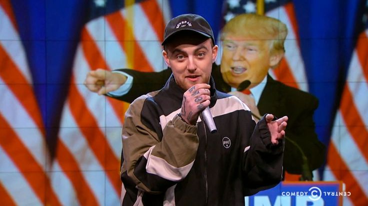 Watch Mac Miller 'Whitesplain' to 'Racist F--kwad' Donald Trump #headphones #music #headphones